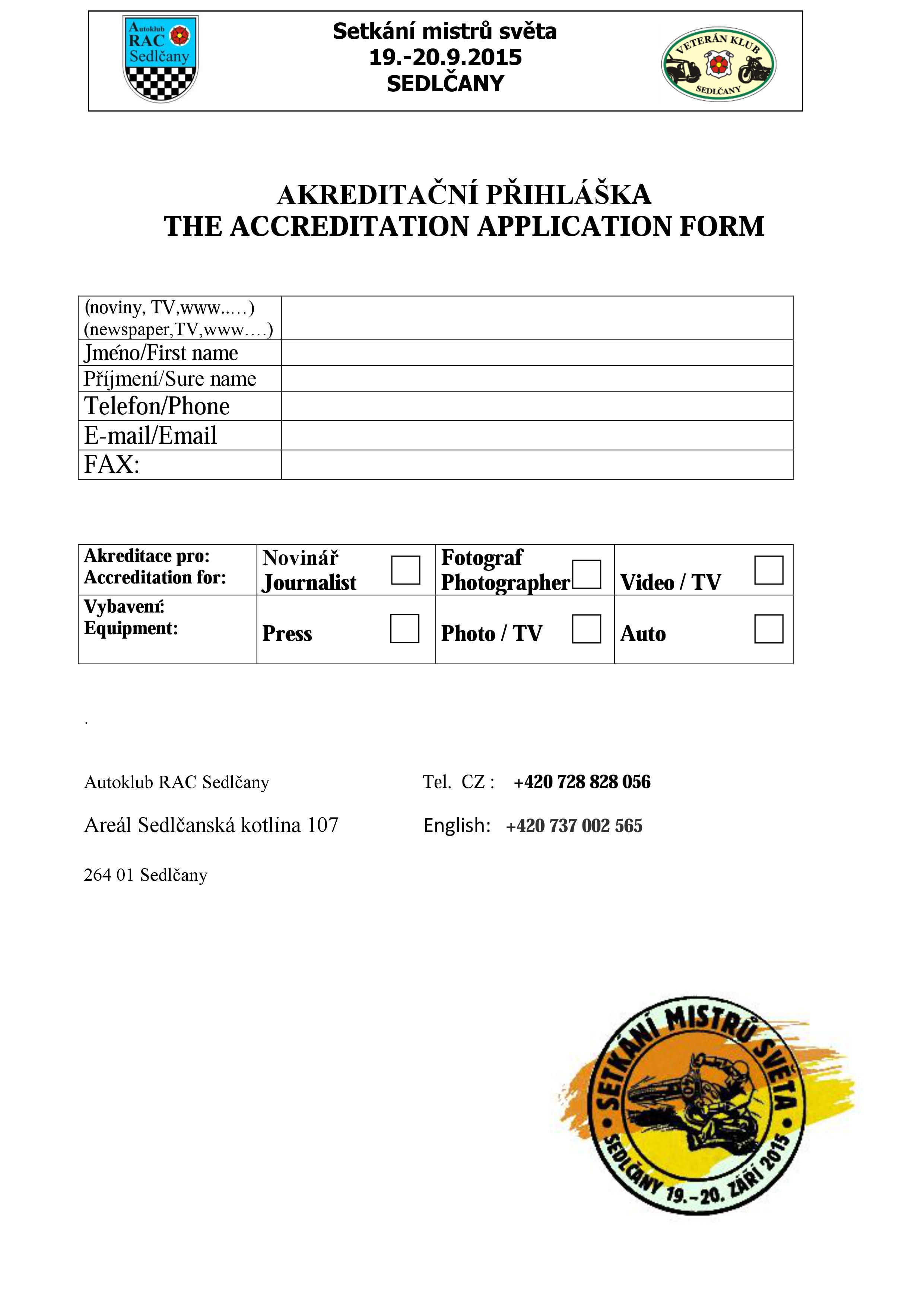 Akreditace